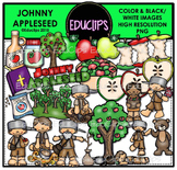 Johnny Appleseed Clip Art Bundle {Educlips Clipart}