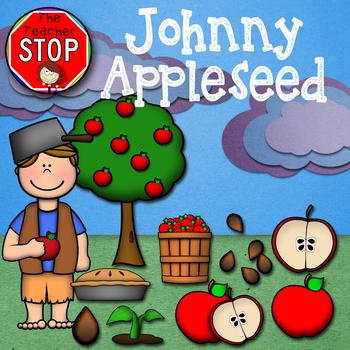 Johnny Appleseed Clipart {The Teacher Stop}