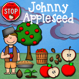 Johnny Appleseed Clipart {The Teacher Stop}