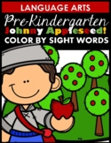 Johnny Appleseed (Color by Sight Word)