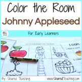 Johnny Appleseed Color the Room