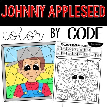 FREE Johnny Appleseed Coloring Sheets   350x350