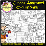 Johnny Appleseed - Coloring Pages - Writing Prompts & Papers (School Designhcf)