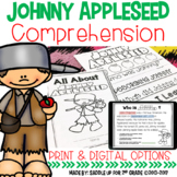 Johnny Appleseed Comprehension | Print and Digital for Dis