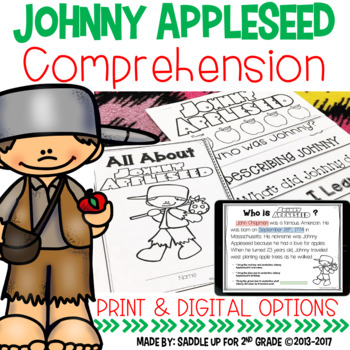 Johnny Appleseed Comprehension