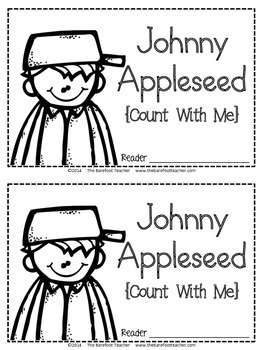Johnny Appleseed Counting & Number Words Emergent Reader