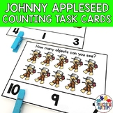 Johnny Appleseed Math Task Cards Counting
