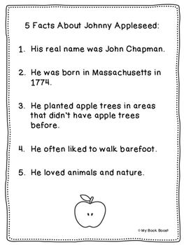 Johnny Appleseed Puppet Craft