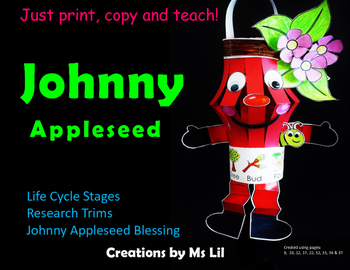 Johnny Appleseed Craft  ::  Johnny Appleseed Activity