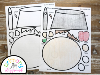 Johnny Appleseed Craft With Writing Prompts/Pages