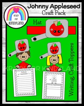 Johnny Appleseed Craft, Writing, and Hat Combo Pack