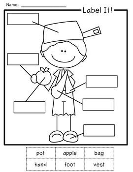 Johnny Appleseed Craft and Writing Activities