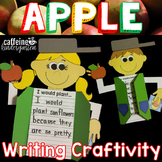 Johnny Appleseed Craft and Writing Activity