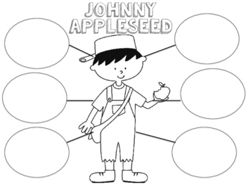 Johnny Appleseed Craftivity Freebie