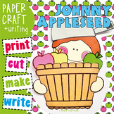 Johnny Appleseed Craft and Writing Papers