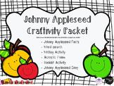 Johnny Appleseed Flipbook {Craftivity, Printables, Word Search}