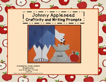 Johnny Appleseed Craftivity and Writing Prompts