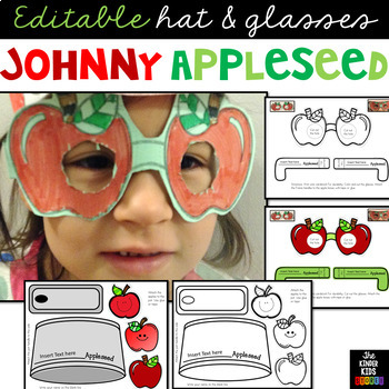 Johnny Appleseed Crafts (Editable)