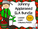 Johnny Appleseed ELA Bundle (1 Scoot, 1 ZAP!, 1 Mystery Picture)