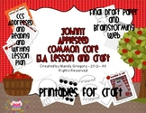 Johnny Appleseed ELA Lesson and Craft