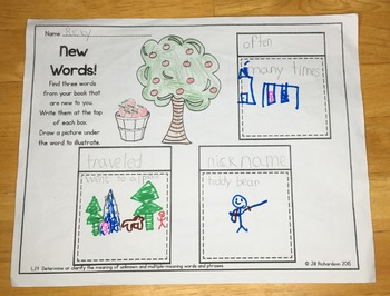 Johnny Appleseed Book Emergent Reader! Johnny Appleseed Activities