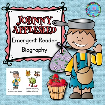 Johnny Appleseed Book Emergent Reader! Johnny Appleseed Ac