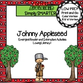 Johnny Appleseed Emergent Reader Book AND Interactive Activities