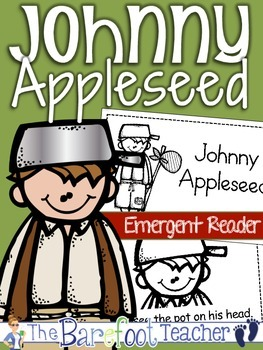 Back to School Johnny Appleseed Emergent Reader