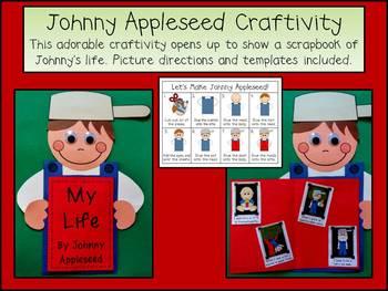 Johnny Appleseed Emergent Reader & Craftivity Pack