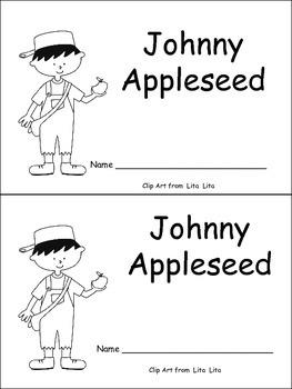 Johnny Appleseed Emergent Reader for Kindergarten- Countin