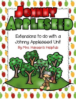 Johnny Appleseed Extension Activities