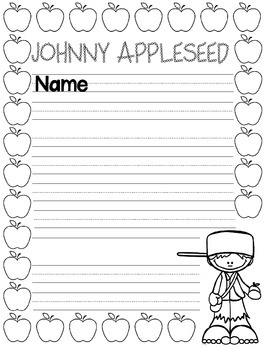 Johnny Appleseed FREEBIE