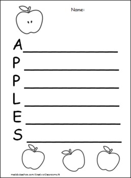 Johnny Appleseed Fall Packet