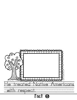 Johnny Appleseed Interactive Flipbook and Craft