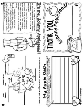 Johnny Appleseed Flippy Book