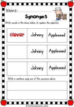 Johnny Appleseed - Free Printables