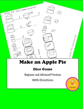 Johnny Appleseed Game - Beginner and Advanced Versions