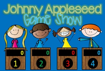 Johnny Appleseed Game Show Interactive Powerpoint