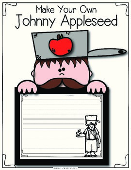 Johnny Appleseed Graphic Organizers and Craftivity