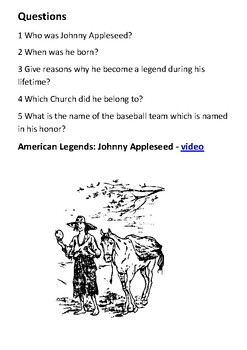 Johnny Appleseed Handout
