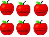 Johnny Appleseed Hat Apples
