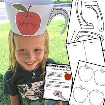 Johnny Appleseed Hat Craft FREE