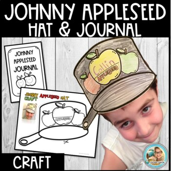 image about Brain Hat Printable named Johnny Appleseed Pursuits Hat Printable
