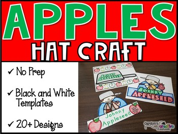 Johnny Appleseed Hats (Johnny Appleseed Crowns)