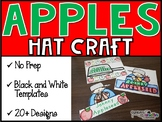 Apple themed Hats and Johnny Appleseed Hats (Johnny Apples
