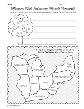 Johnny Appleseed Biography and Comprehension