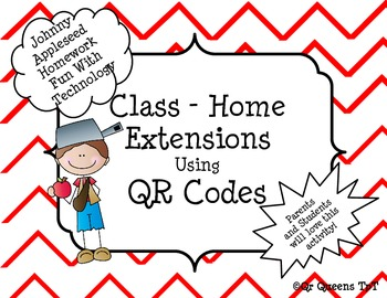 Johnny Appleseed Homework Fun using QR Codes (School to Ho