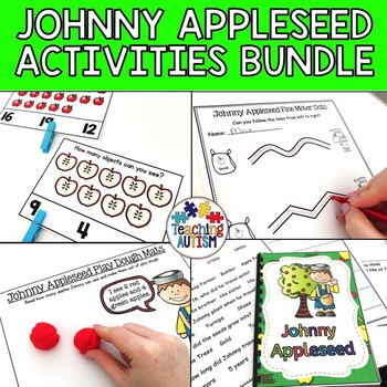 Johnny Appleseed Activity Bundle