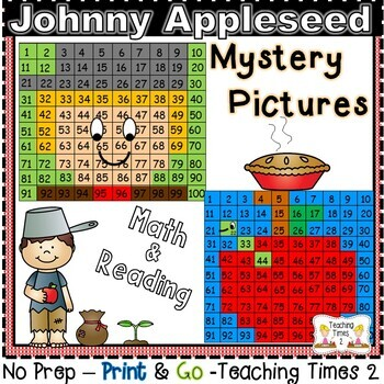 Johnny Appleseed Hundreds Charts Hidden Pictures
