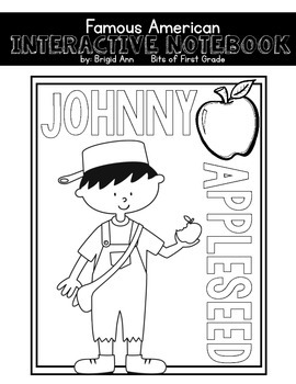 Johnny Appleseed Interactive Notebook